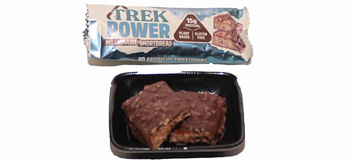TREK Power Millionaire Shortbread in the on the go degusta box