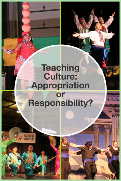 Teaching culture - a responsibility or appropriation?