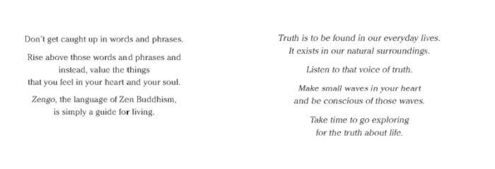 excerpt from Zen Wisdom for the Anxious