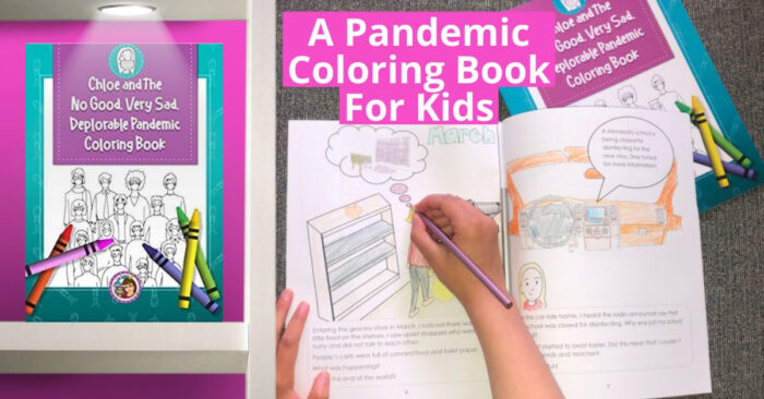 A Pandemic Coloring Book For Kids