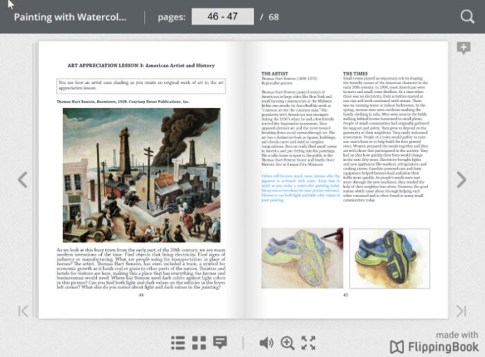 ARTistic Pursuits Flip Book