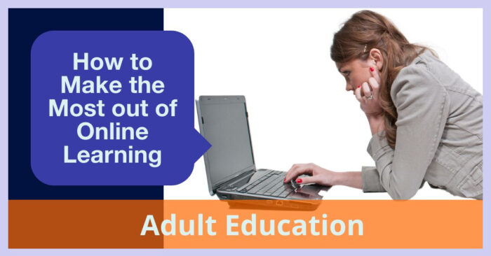 How to Make the Most out of Online Learning