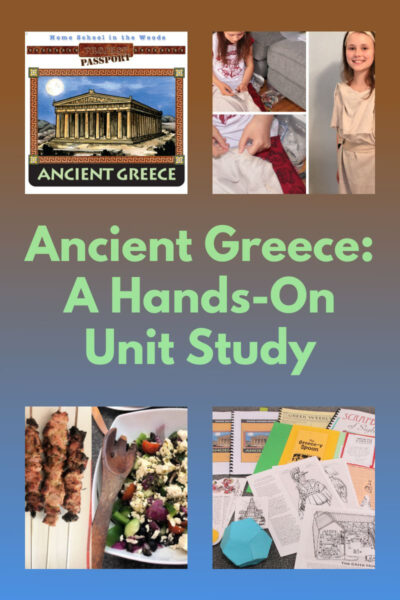 Ancient Greece Hands-on Unit StudyAncient Greece Hands-on Unit Study