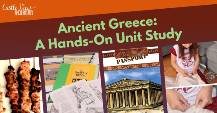 Ancient Greece Hands-on Unit Study Review