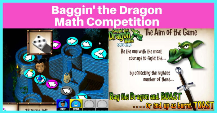 Baggin the Dragon Math Competition online