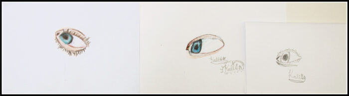 Realism Period - The Eye (Colored Pencil)