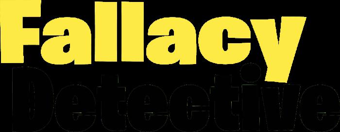 Fallacy Detective logo
