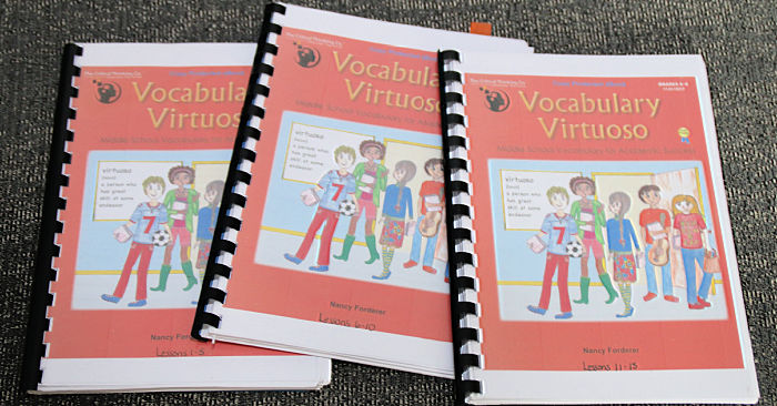 middle school Vocabulary Virtuoso
